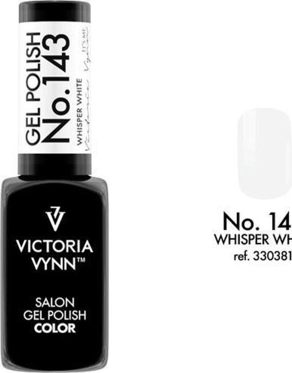 Gellak Victoria Vynn™ Gel Nagellak - Salon Gel Polish Color 143 - 8 ml. - Whisper White
