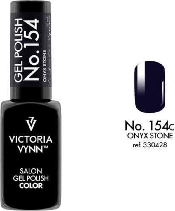 Gellak Victoria Vynn™ Gel Nagellak - Salon Gel Polish Color 154 - 8 ml. - Onyx Stone
