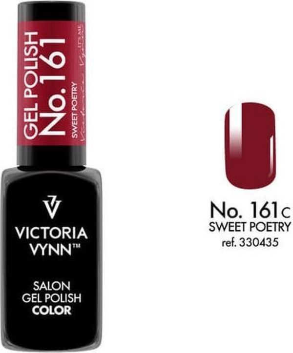 Gellak Victoria Vynn™ Gel Nagellak - Salon Gel Polish Color 161 - 8 ml. - Sweet Poetry