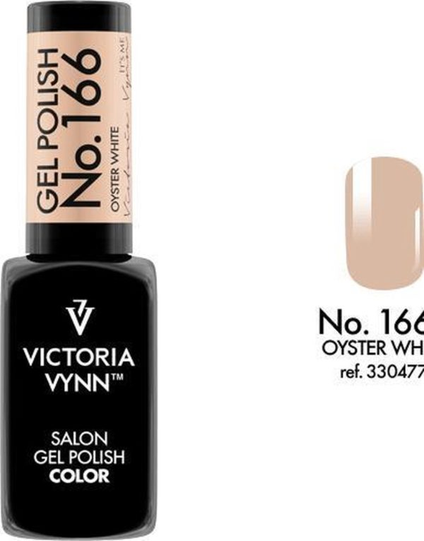 Gellak Victoria Vynn™ Gel Nagellak - Salon Gel Polish Color 166 - 8 ml. - Oyster White
