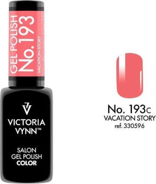 Gellak Victoria Vynn™ Gel Nagellak - Salon Gel Polish Color 193 - 8 ml. - Vacation Story