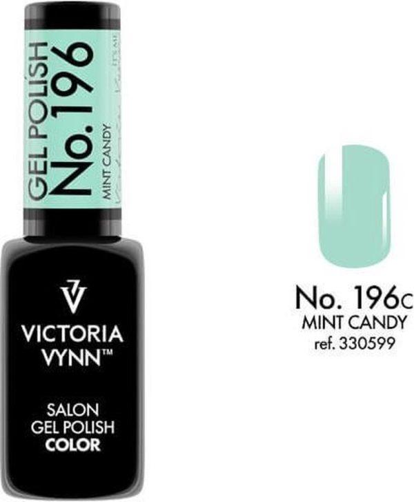 Gellak Victoria Vynn™ Gel Nagellak - Salon Gel Polish Color 196 - 8 ml. - Mint Candy