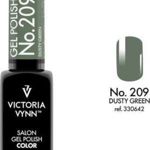 Gellak Victoria Vynn™ Gel Nagellak - Salon Gel Polish Color 209 - 8 ml. - Dusty Green