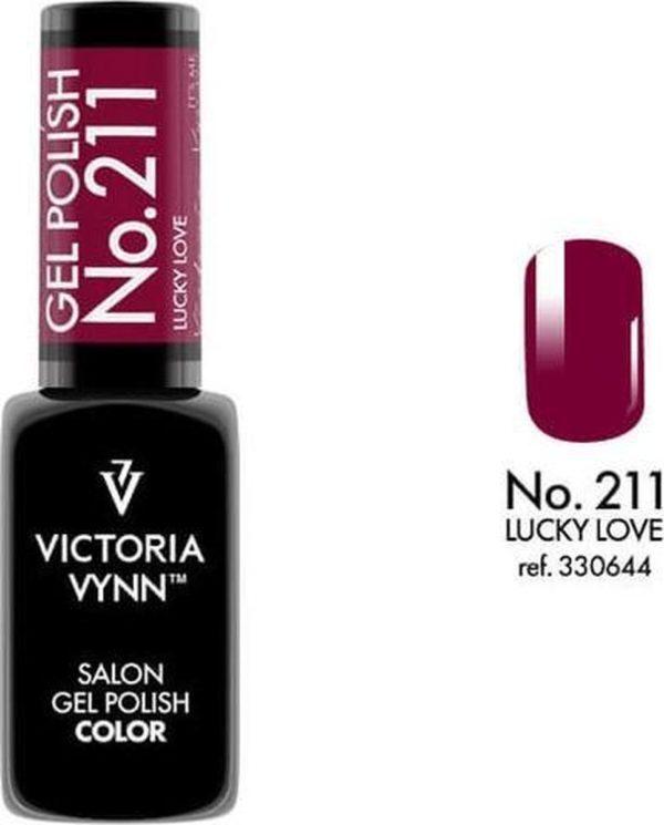 Gellak Victoria Vynn™ Gel Nagellak - Salon Gel Polish Color 211 - 8 ml. - Lucky Love