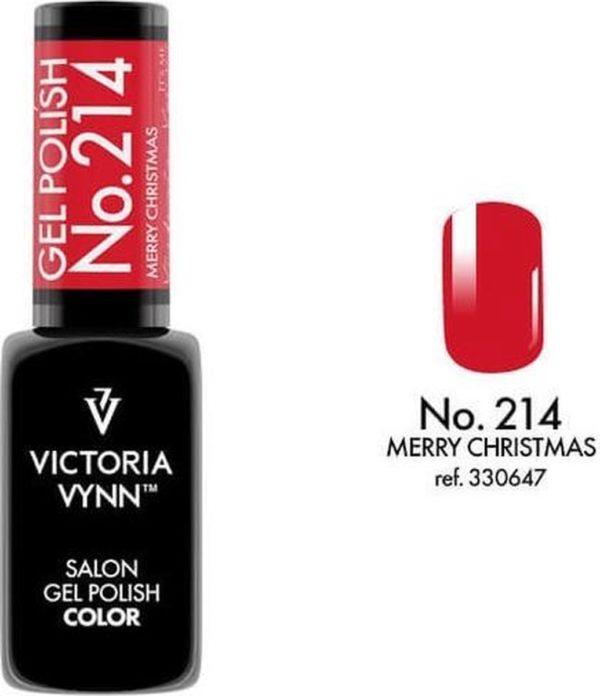 Gellak Victoria Vynn™ Gel Nagellak - Salon Gel Polish Color 214 - 8 ml. - Merry Christmas