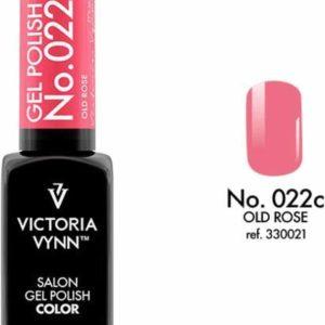 Gellak Victoria Vynn™ Gel Nagellak - Salon Gel Polish Color 022 - 8 ml. - Old Rose