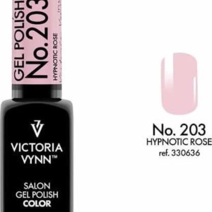 Gellak Victoria Vynn™ Gel Nagellak - Salon Gel Polish Color 203 - 8 ml. - Hypnotic Rose - Roze