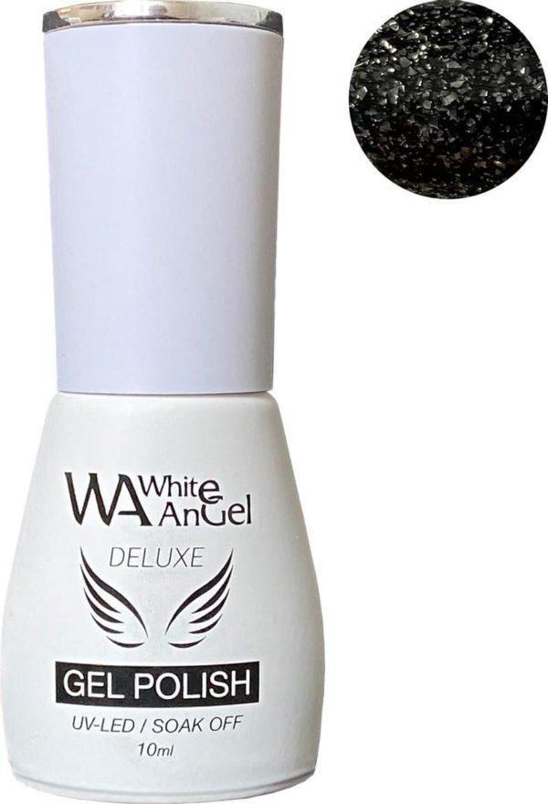 Gellex Deluxe Gel Polish, gellak, gel nagellak, shellac - Galaxy Black 360
