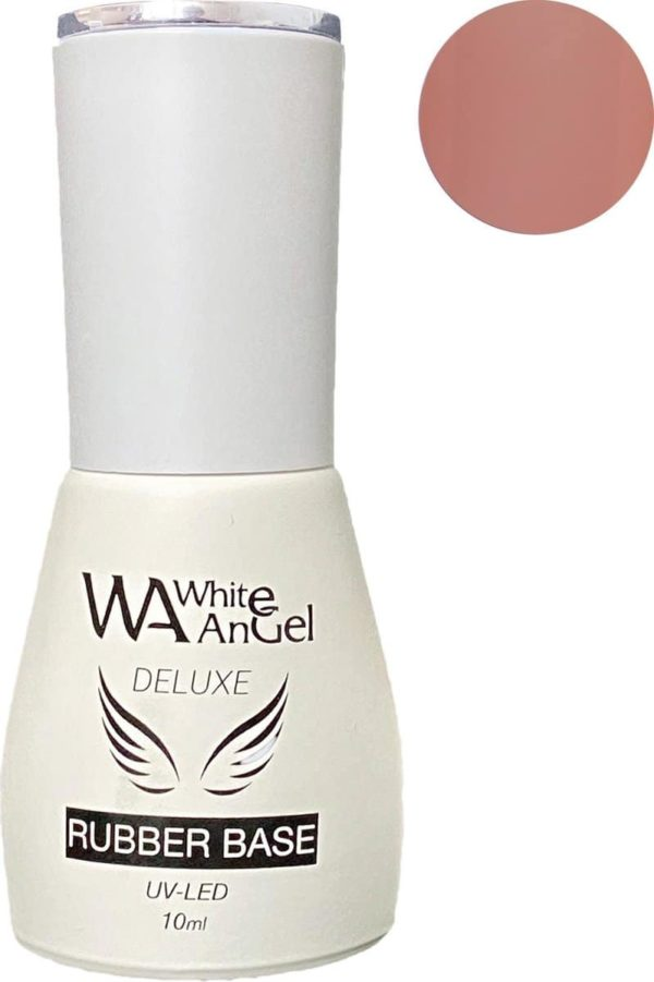 Gellex Rubber Base Coat (cover pink) 10ml, Gel in Bottle, gellak nagels, gel nagellak, gelpolish, shellac, gel nagels