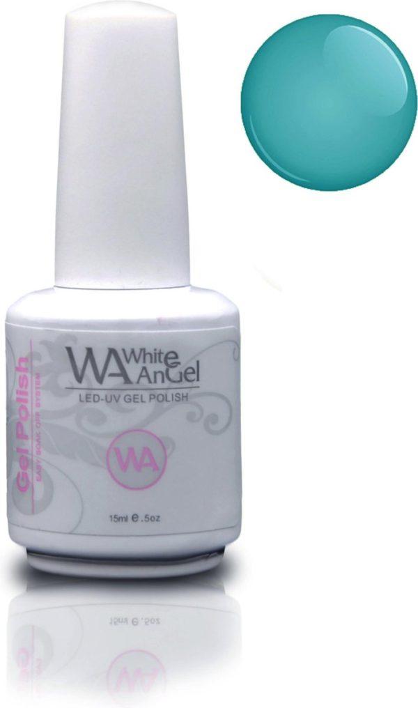 Gellex White Angel Bright Mint gellak 15ml, gelpolish, gel nagellak, shellac