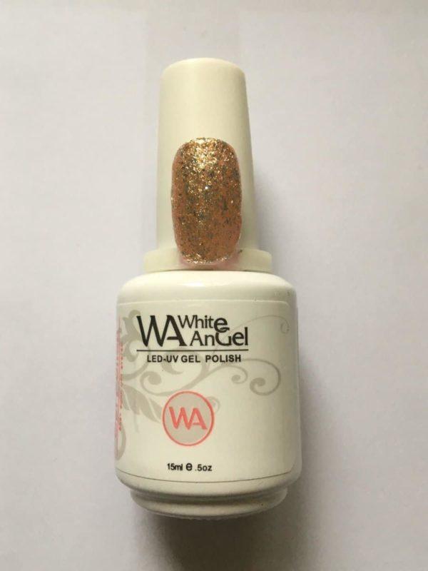 Gellex White Angel Diamond Gold gellak 15ml, gelpolish, gel nagellak, shellac