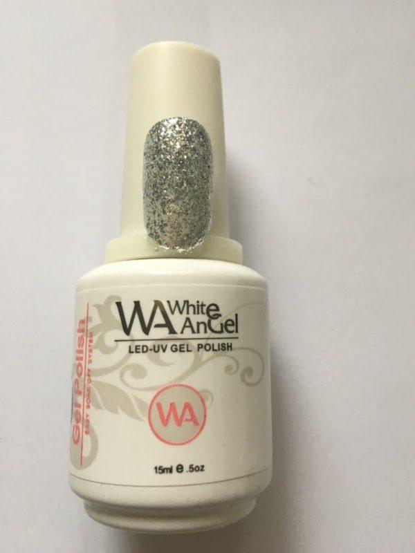Gellex White Angel Diamond Silver gellak 15ml, gelpolish, gel nagellak, shellac