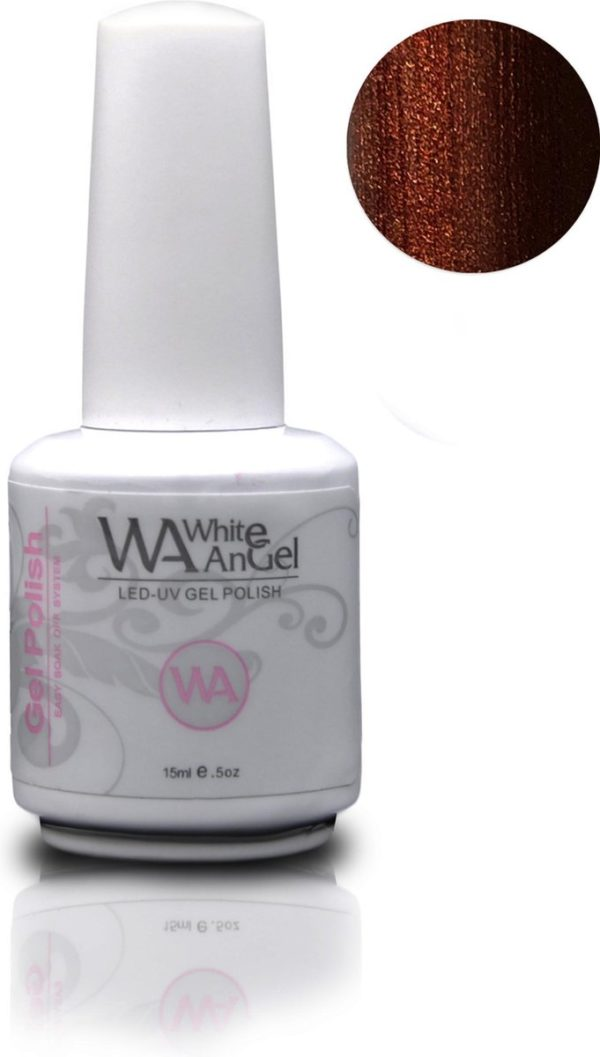 Gellex White Angel Expresso gellak 15ml, gelpolish, gel nagellak, shellac