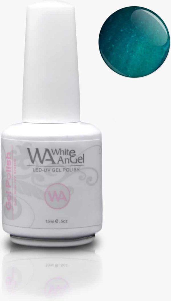 Gellex White Angel Green Suprise gellak 15ml, gelpolish, gel nagellak, shellac