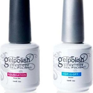Gelpolish - Base & Top coat nagellak set - Gel nagellak - UV gellak set - Topcoat - Basecoat
