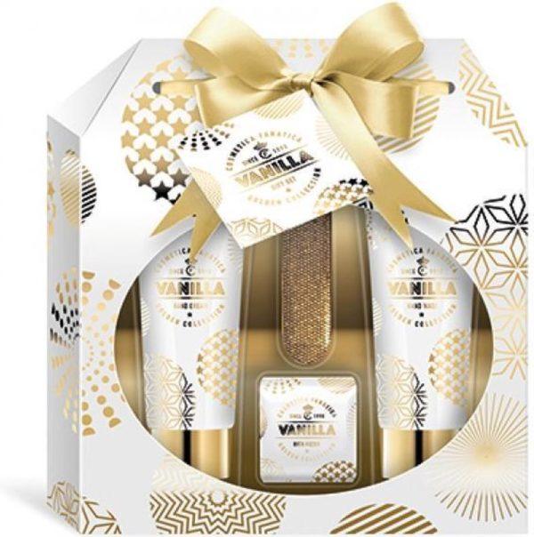 Gold-Vanilla geschenkset, 4 st.