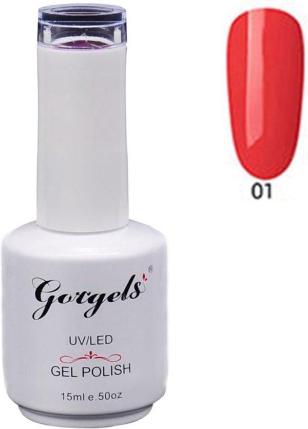Gorgels Gellak Gel Nagellak soak-off Nail Polish 15ml