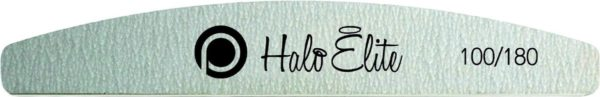 Halo Elite Zebra Moon Foam vijl 100/180 (5 stuks) voor de professionele nagelstyliste, manicure als voor thuis.
