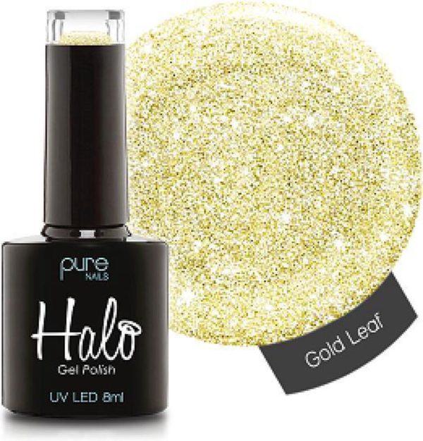 Halo Gel Polish Gold Leaf - Professionele gellak -
