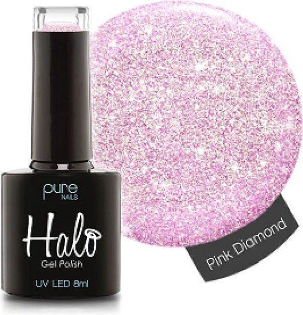 Halo Gel Polish Pink Diamond - Professionele gellak