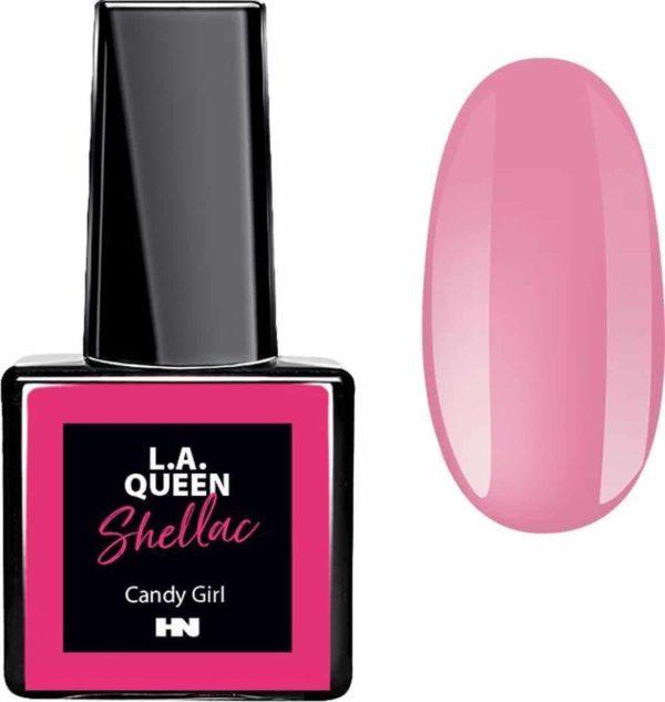 Hollywood Nails - Gellak - Gel nagellak - Color gel - L.A. Queen UV Gel Shellac - Candy Girl #26 15 ml