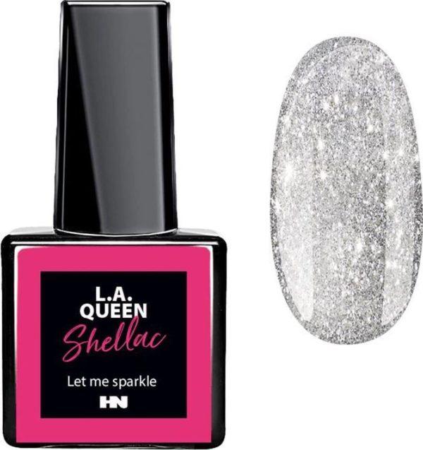 Hollywood Nails - Gellak - Gel nagellak - Color gel - L.A. Queen UV Gel Shellac - Let me sparkle #30 15 ml