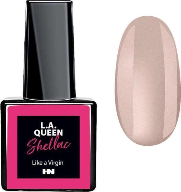 Hollywood Nails - Gellak - Gel nagellak - Color gel - L.A. Queen UV Gel Shellac - Like a Virgin #32 15 ml