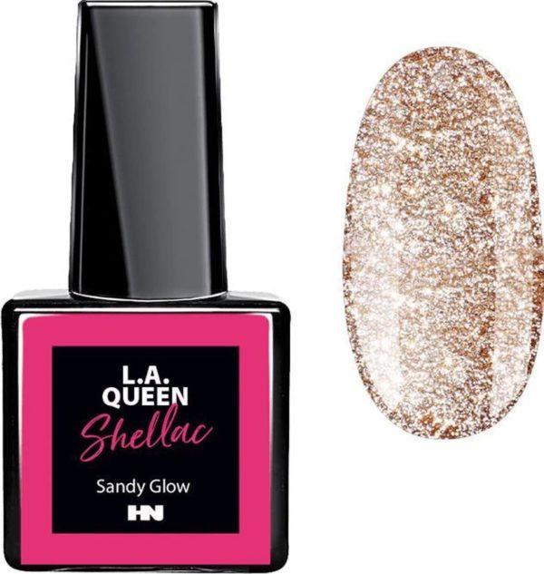 Hollywood Nails - Gellak - Gel nagellak - Color gel - L.A. Queen UV Gel Shellac - Sandy Glow #31 15 ml