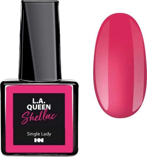 Hollywood Nails - Gellak - Gel nagellak - Color gel - L.A. Queen UV Gel Shellac - Single Lady #18 15 ml