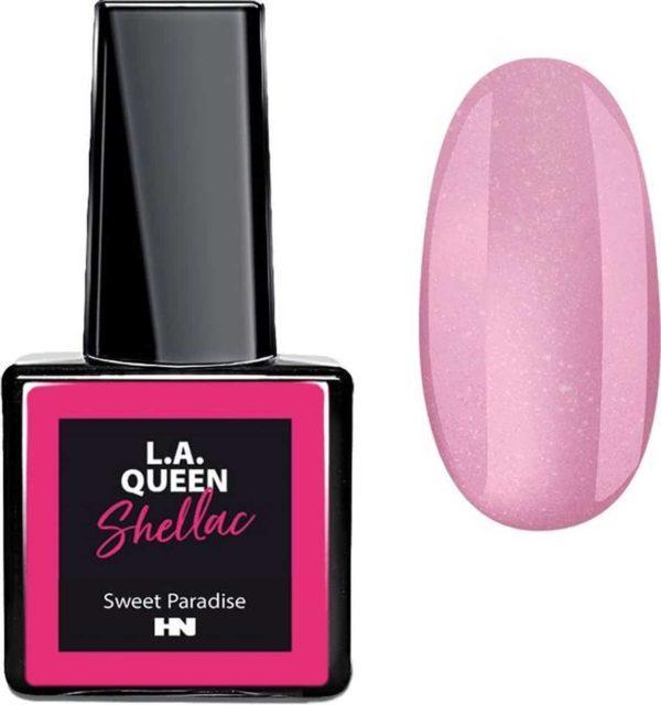 Hollywood Nails - Gellak - Gel nagellak - Color gel - L.A. Queen UV Gel Shellac - Sweet Paradise #14