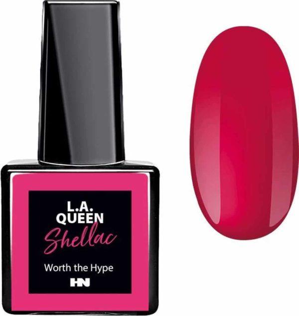 Hollywood Nails - Gellak - Gel nagellak - Color gel - L.A. Queen UV Gel Shellac - Worth the Hype #23 15 ml