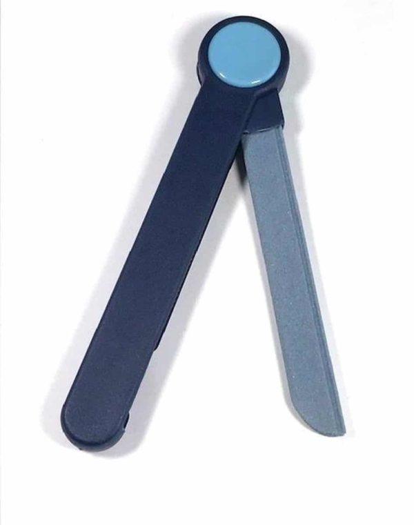 Homeij Keramische Nagelvijl Blauw 21 cm
