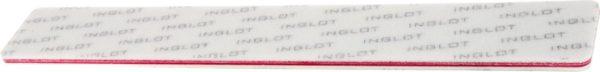 INGLOT - Nail File (80/100) Red - Nagelvijl