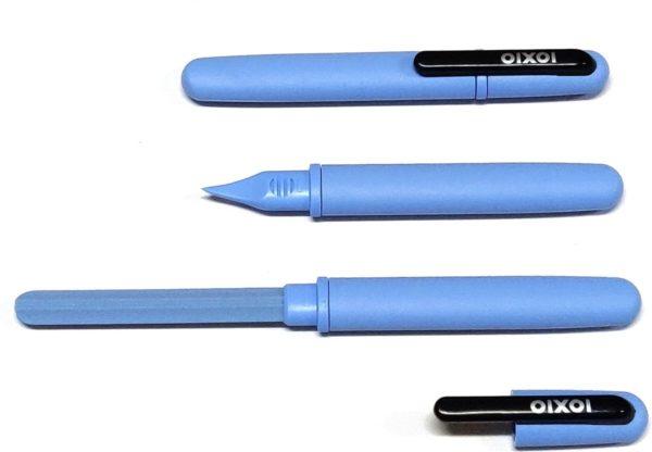 IOXIO Care Keramische Nagelvijl - 14 cm - Candy Blue