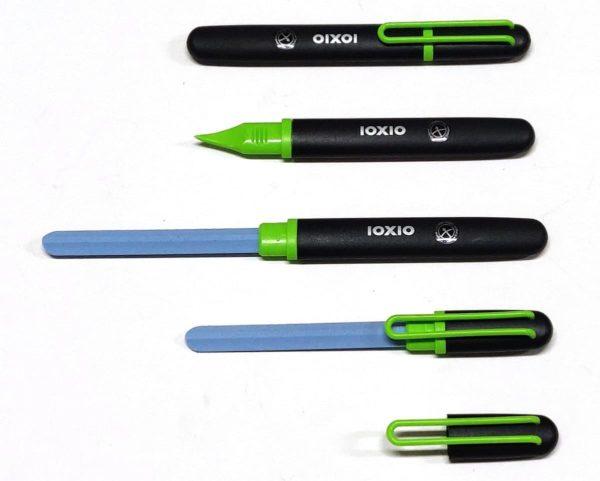 IOXIO Care Keramische Nagelvijl Groen-Professionele Keramische Nagelvijl, lengte 14 cm,vijloppervlak 8,5 x 1 cm