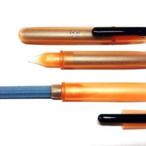 IOXIO Care Keramische Nagelvijl Zalm/Transparant - Professionele Keramische Nagelvijl, lengte 14 cm, vijloppervlak 8,5 x 1 cm