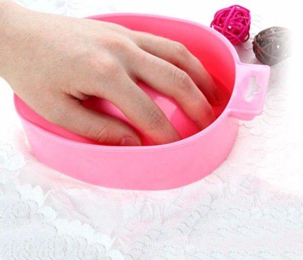 IRSA Manicure Bowl - Nagelbadje - Gellak remover - Acrylnagel remover - Soaking bowl - Nagel Bad / Schaal - Nagelbad - Roze