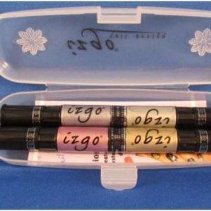 IZGO Naildesign 2 in 1 Nagellak DUO Nail Art Nagellak Pen Metallic Shine Set