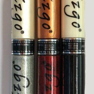 IZGO Naildesign 2 in 1 Nagellak DUO Nail Art Pen Glitter Glamour met extra IZGO zwart en wit pen - 318