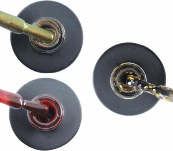 Influence Gellac 3 x 10 ml - CHAMPAGNECATEYE & RUBYRED & GLAMOROUSGOLD - UV / LED Gellak - Gel nagellak - Gel lak - Bruin Rood / Bordeaux / Donkerrood Goud / Zilver / Glitter