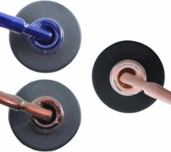 Influence Gellac 3 x 10 ml - DENIMBLUE & ROSECATEYE & PRETTYPINK - UV / LED Gellak - Gel nagellak - Gel lak - Blauw Rood / Glitter / Bordeaux Roze / Nude
