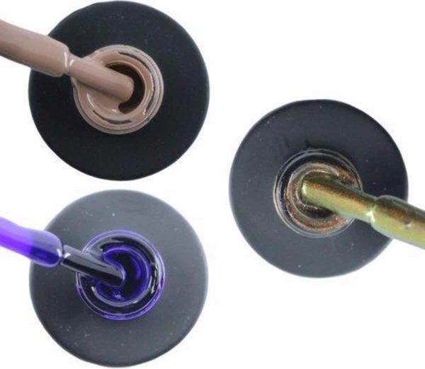Influence Gellac 3 x 10 ml - NAKEDNUDE & PRECIOUSPURPLE & CHAMPAGNECATEYE - UV / LED Gellak - Gel nagellak - Gel lak - Nude / Bruin Paars Bruin