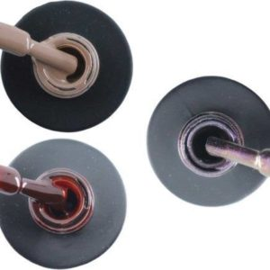 Influence Gellac 3 x 10 ml - NAKEDNUDE & RUBYRED & VIOLETCATEYE - UV / LED Gellak - Gel nagellak - Gel lak - Nude / Bruin Rood / Bordeaux / Donkerrood Paars / glitter / blauw