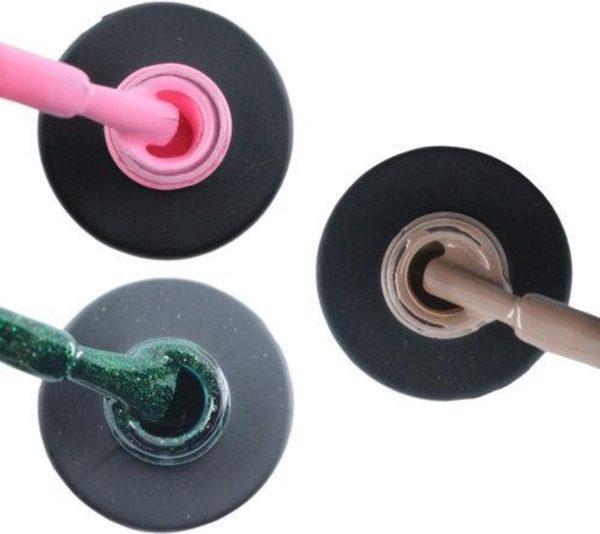 Influence Gellac 3 x 10 ml - PERKYPINK & GUILTYGREEN & NAKEDNUDE - UV / LED Gellak - Gel nagellak - Gel lak - Roze Groen Nude / Bruin