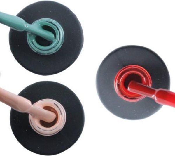 Influence Gellac 3 x 10 ml - PETROLBLUE & PRETTYPINK & SASSYRED - UV / LED Gellak - Gel nagellak - Gel lak - Blauw / Groen Roze / Nude Rood