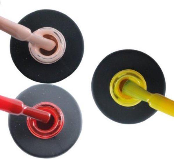 Influence Gellac 3 x 10 ml - PRETTYPINK & SASSYRED & SHINYYELLOW - UV / LED Gellak - Gel nagellak - Gel lak - Roze / Nude Rood Geel