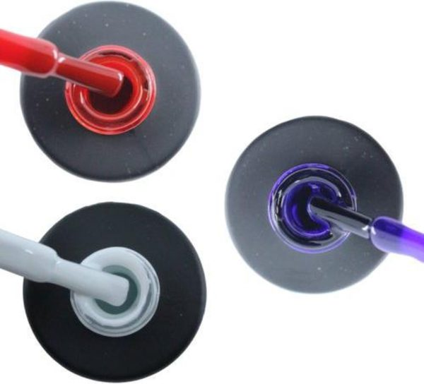 Influence Gellac 3 x 10 ml - SASSYRED & SNOWWHITE & PRECIOUSPURPLE - UV / LED Gellak - Gel nagellak - Gel lak - Rood Wit Paars