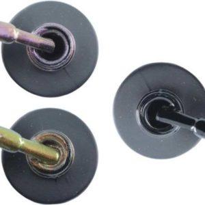 Influence Gellac 3 x 10 ml - VIOLETCATEYE & CHAMPAGNECATEYE & BADBLACK - UV / LED Gellak - Gel nagellak - Gel lak - Paars / glitter / blauw Bruin Zwart