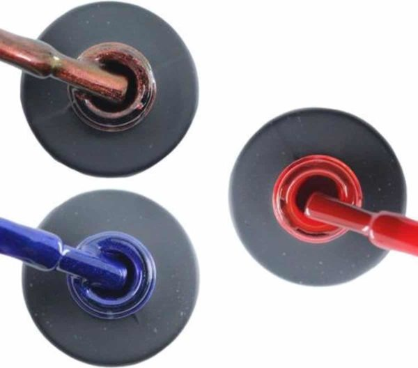 Influence Gellac #ALICESERIE - UV / LED Gellak - Gel nagellak - Gel lak - Rood / Glitter / Bordeaux / Blauw - Startersset - 3 x 10 ml