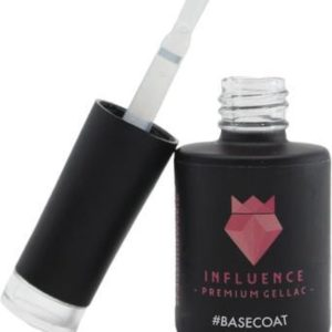 Influence Gellac #BASECOAT - UV / LED Gellak - Gel nagellak - Gel lak - Basis - Transparant- Startersset gellak - 10 ml